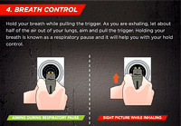 Proper Breath Control for Pistol Shooting